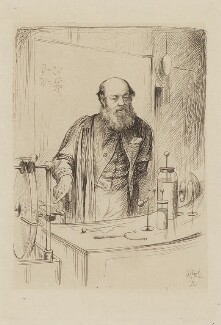 Peter Guthrie Tait, by William Brassey Hole - NPG D40536
