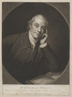 Thomas Price, by and published by John Jones, after  William Lawranson - NPG D40749