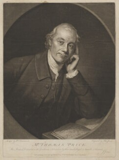 Thomas Price, by and published by John Jones, after  William Lawranson - NPG D40750