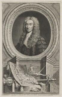 Charles Talbot, 1st Baron Talbot of Hensol, by Jacobus Houbraken, published by  John & Paul Knapton, after  John Vanderbank - NPG D40540