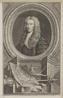 Charles Talbot, 1st Baron Talbot of Hensol, by Jacobus Houbraken, published by  John & Paul Knapton, after  John Vanderbank, 1739 - NPG D40801 - © National Portrait Gallery, London