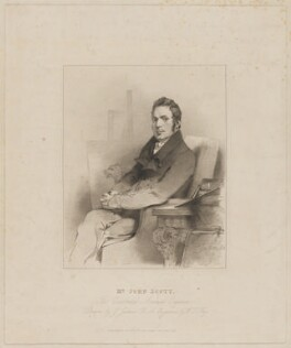 John Scott, by William Thomas Fry, published by  Mrs Scott, after  John Jackson - NPG D40588