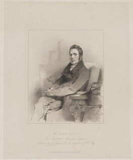 John Scott, by William Thomas Fry, published by  Mrs Scott, after  John Jackson - NPG D40589