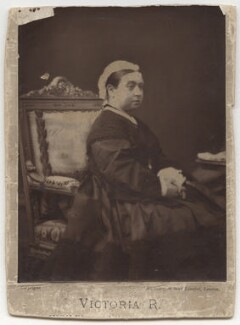 Queen Victoria, by Waterlow & Sons Ltd, after  Disdéri - NPG x9399