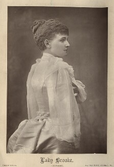 Frances Evelyn ('Daisy') Greville (née Maynard), Countess of Warwick, by Franz Baum - NPG x134766