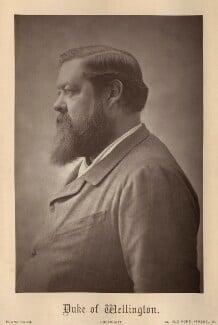 Henry Wellesley, 3rd Duke of Wellington, by Franz Baum - NPG x134768