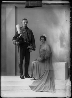 Adela Emily (née Wykeham), Lady Birchall; Sir John Dearman Birchall, by Bassano Ltd - NPG x154974