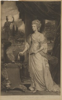 Charlotte (née Hill), Countess Talbot, by and published by Valentine Green, after  Sir Joshua Reynolds - NPG D40807