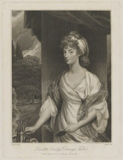 Charlotte (née Hill), Countess Talbot, by Granger, published by  Silvester Harding, after  Stewart, after  Sir Joshua Reynolds - NPG D40808