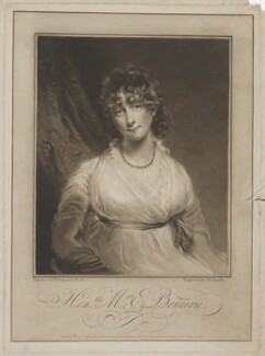Hon. Arabella Talbot (née Ogle), by and published by John Raphael Smith, after  John Hoppner - NPG D40809