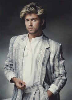 George Michael, by John Swannell - NPG x134779