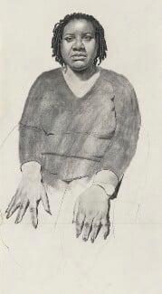 Diane Abbott, by Stuart Pearson Wright - NPG 6927