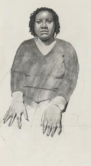 Diane Abbott, by Stuart Pearson Wright, 2006 - NPG 6927 - © National Portrait Gallery, London