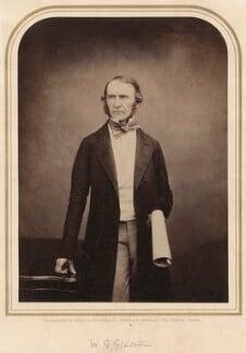 William Ewart Gladstone, by Maull & Polyblank - NPG x134783