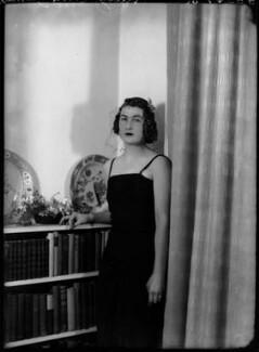 Lady Ann Florence Verney James (née Cole), by Bassano Ltd - NPG x155023