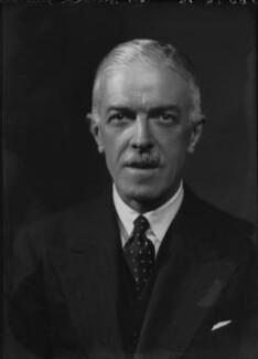 Sir Harold Ben Fawcus, by Bassano Ltd - NPG x155043