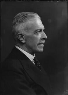 Sir Harold Ben Fawcus, by Bassano Ltd - NPG x155045