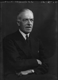 Sir Harold Ben Fawcus, by Bassano Ltd - NPG x155046