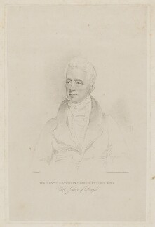 Sir Christopher Puller, by Frederick Christian Lewis Sr, after  Joseph Slater - NPG D40769