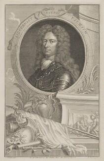 Thomas Tollemache (Talmash, Talmach, Tolmach), by Jacobus Houbraken, published by  John & Paul Knapton, after  Sir Godfrey Kneller, Bt - NPG D40814
