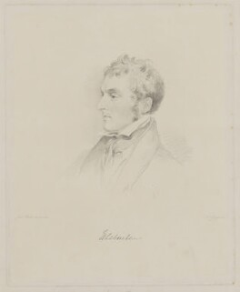 Henry Labouchere, Baron Taunton, by Frederick Christian Lewis Sr, after  Joseph Slater - NPG D40822