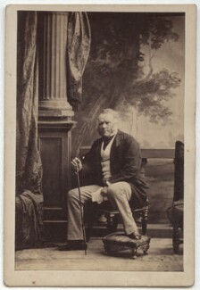 Sir Ralph Abercromby Anstruther, 4th Bt, by Camille Silvy, 1860 - NPG Ax8640 - © National Portrait Gallery, London