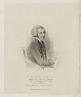 Charles Manners-Sutton, by William Holl Sr, published by  Robert Cribb & Son, after  Thomas Charles Wageman - NPG D40783