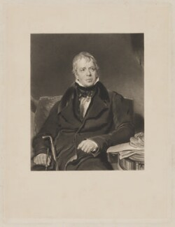 Sir Walter Scott, 1st Bt, after Sir Thomas Lawrence - NPG D40600