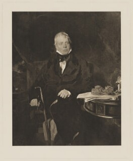 Sir Walter Scott, 1st Bt, after Sir Thomas Lawrence - NPG D40601