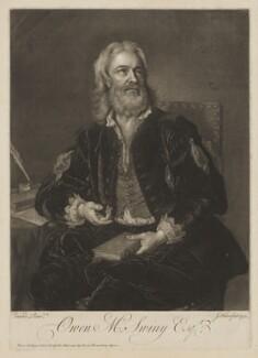 Owen MacSwinny (or Swinny), by John Faber Jr, after  Jean Baptiste van Loo - NPG D40788