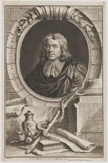 Thomas Sydenham, by Jacobus Houbraken, after  Sir Peter Lely - NPG D40794