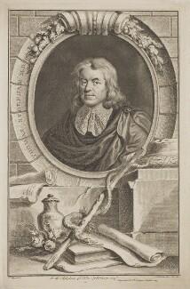 Thomas Sydenham, by Jacobus Houbraken, after  Sir Peter Lely - NPG D40795