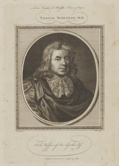 Thomas Sydenham, by John Goldar, after  Sir Peter Lely - NPG D40797