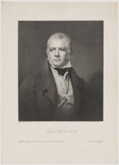 Sir Walter Scott, 1st Bt, by Garnier, printed and published by  Henry Gaugain, after  Sir Henry Raeburn - NPG D40611