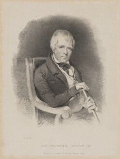 Sir Walter Scott, 1st Bt, by M. O'Connor, published by  Thomas Pewtress - NPG D40612