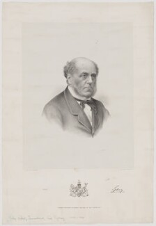 John Robert Townshend, 1st Earl Sydney, by Charles William Walton, published by  Morris, Walton & Co - NPG D40878
