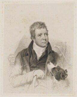 Sir Walter Scott, 1st Bt, by William Nicholson - NPG D40613