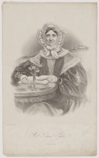 Mrs Daniel Sykes, by Richard James Lane, printed by  M & N Hanhart, after  John Partridge - NPG D40890