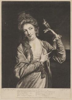 Harriet Mackenzie (née Powell), Countess of Seaforth, by Elizabeth Judkins, printed for  Robert Sayer, after  Sir Joshua Reynolds - NPG D40620