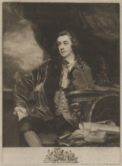 Francis Russell, Marquess of Tavistock, by James Watson, published by  John Boydell, after  Sir Joshua Reynolds - NPG D40824