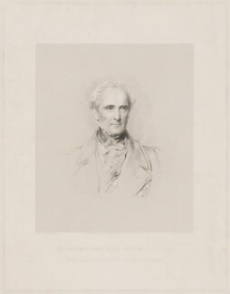John Colborne, 1st Baron Seaton, by W. Joseph Edwards, printed by  H. Wilkinson, published by  Henry Graves & Co, after  George Richmond - NPG D40625