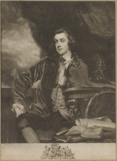 Francis Russell, Marquess of Tavistock, by James Watson, published by  John Boydell, after  Sir Joshua Reynolds, published 1767 (1765-1766) - NPG D40825 - © National Portrait Gallery, London