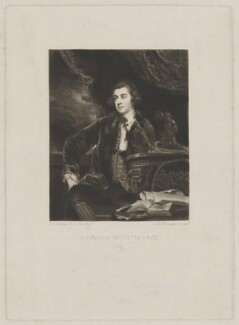 Francis Russell, Marquess of Tavistock, by Samuel William Reynolds, after  Sir Joshua Reynolds - NPG D40829