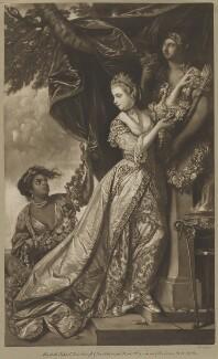 Lady Elizabeth Keppel, by Edward Fisher, after  Sir Joshua Reynolds - NPG D40830