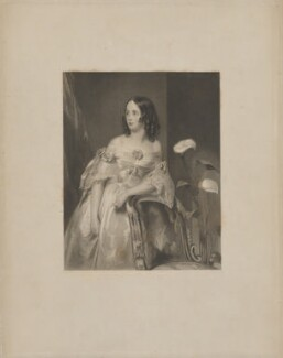 Mary Matilda Georgiana Labouchere (née Howard), Lady Taunton, by William Henry Mote, after  John Bostock - NPG D40831
