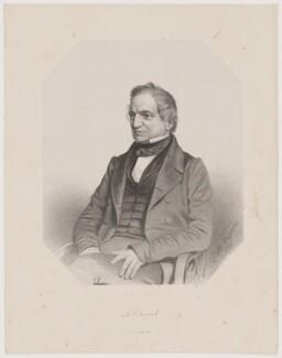 Adam Sedgwick, by Thomas Herbert Maguire, printed by  M & N Hanhart - NPG D40629