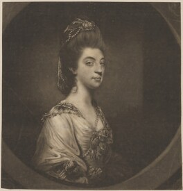 Isabella Molyneux (née Stanhope), Countess of Sefton, by James Watson, after  Sir Joshua Reynolds - NPG D40635