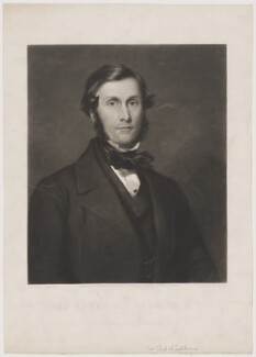 Roundell Palmer, 1st Earl of Selborne, by N. Sanders, published by  Henry Graves & Co, after  Sir Francis Grant - NPG D40637