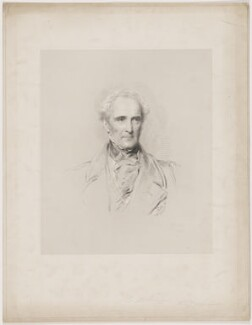 John Colborne, 1st Baron Seaton, by W. Joseph Edwards, after  George Richmond - NPG D40640