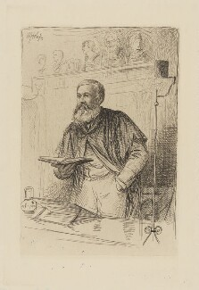 William Young Sellar, by William Brassey Hole - NPG D40643